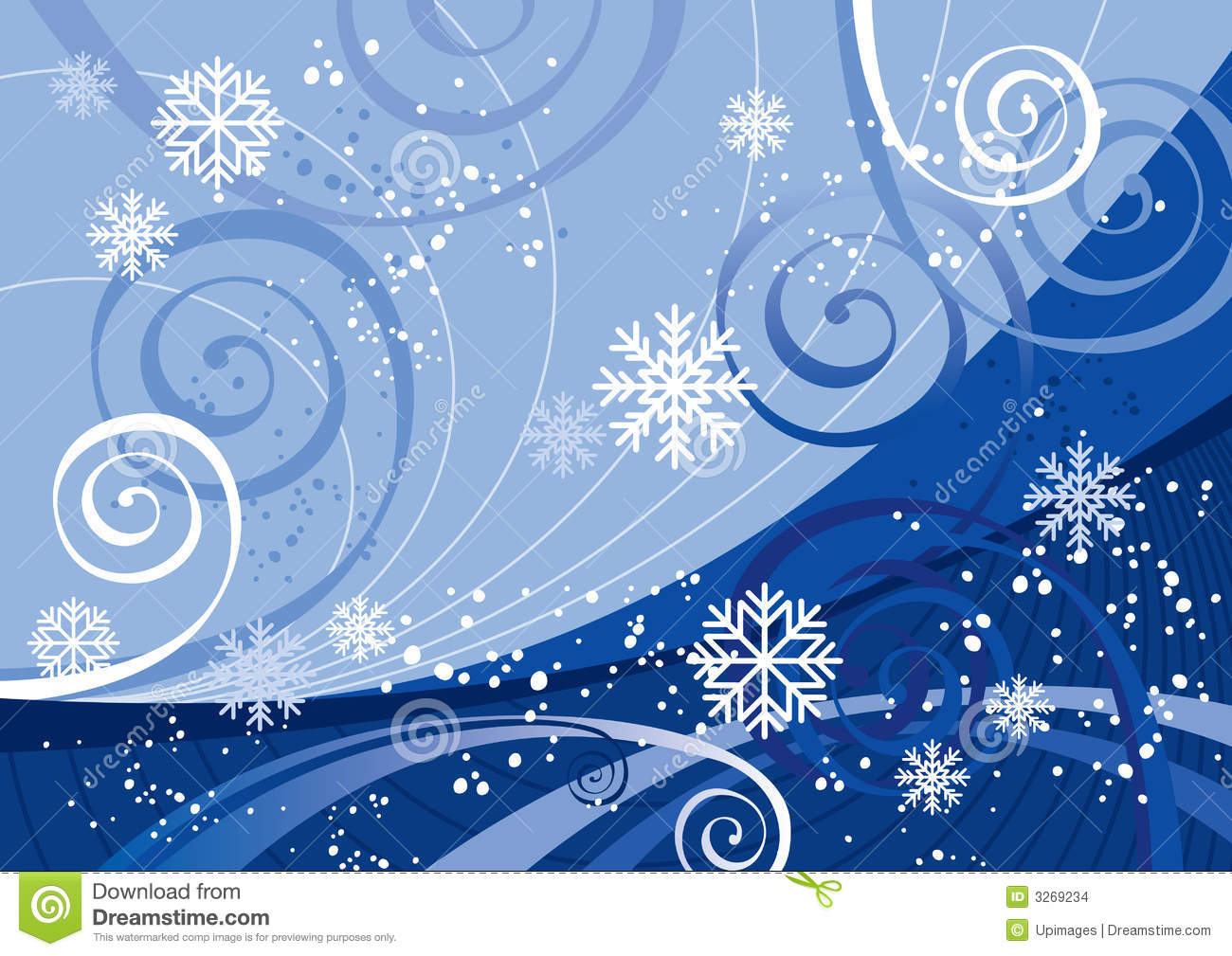 Winter Holidays (vector) Stock Images - Image: 3269234