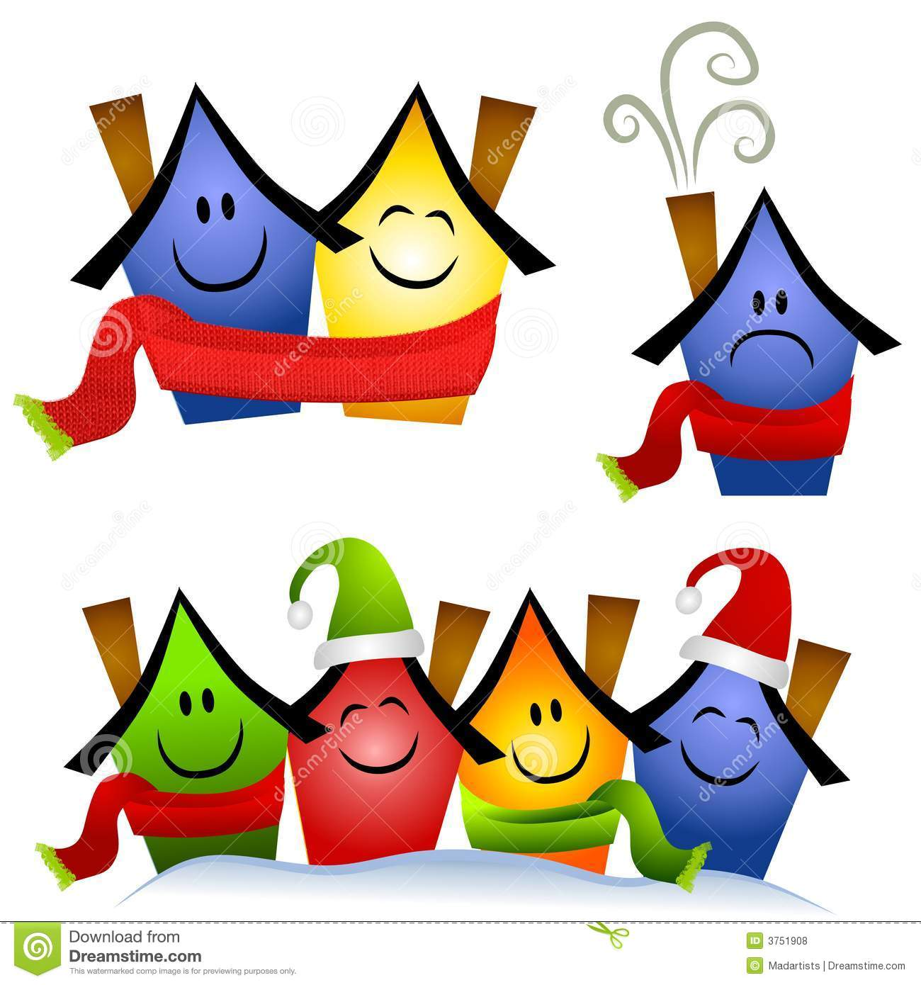 Winter Home Heating Clip Art Royalty Free Stock Photos - Image ...