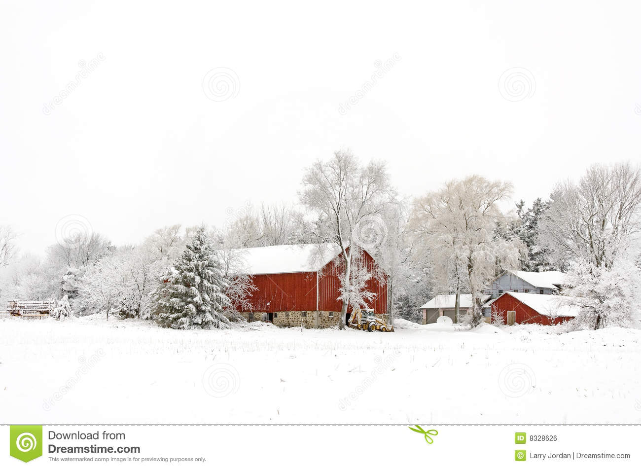 Winter homestead christmas royalty free stock image for Free homestead