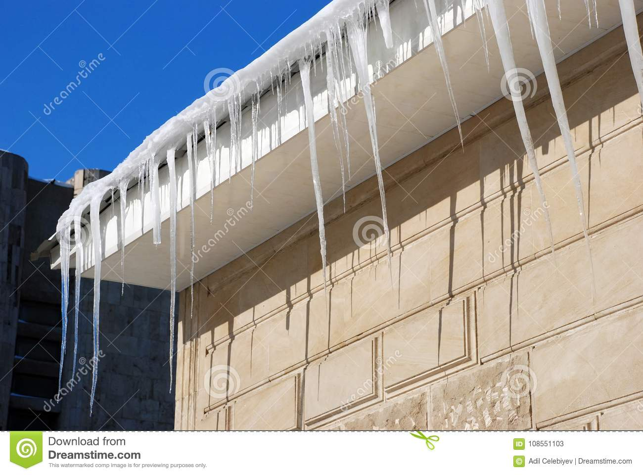 Air Conditioner On A Brick Wall Royalty Free Stock