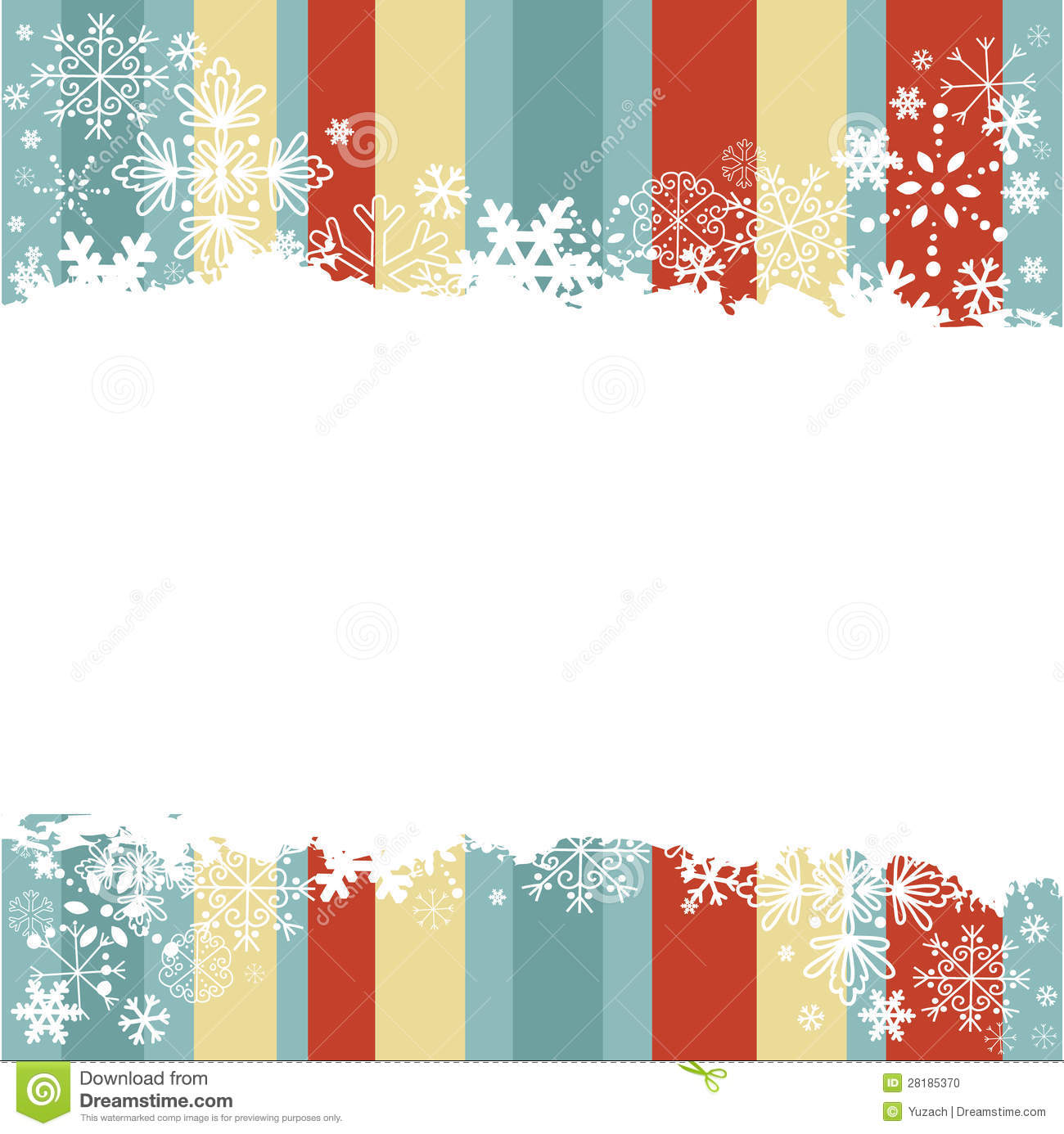 Winter postcard template snow text snowflake birds icons free.