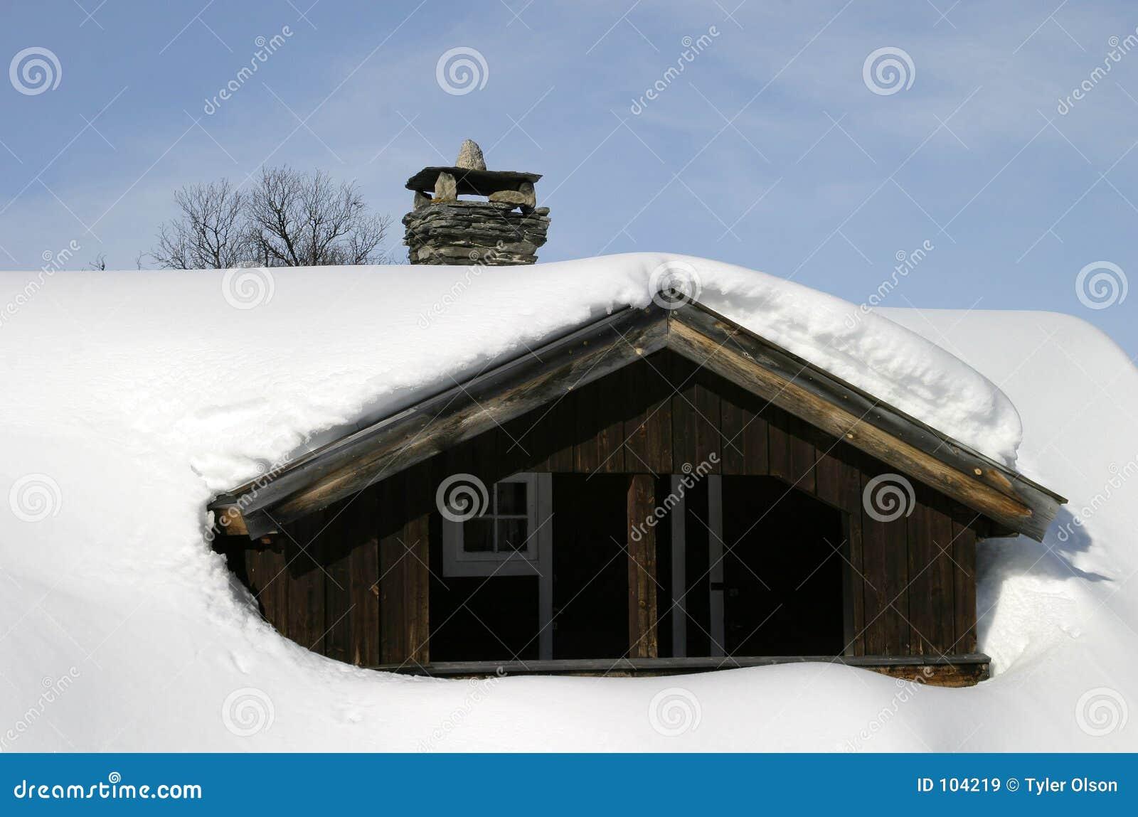 Winter-Kabine