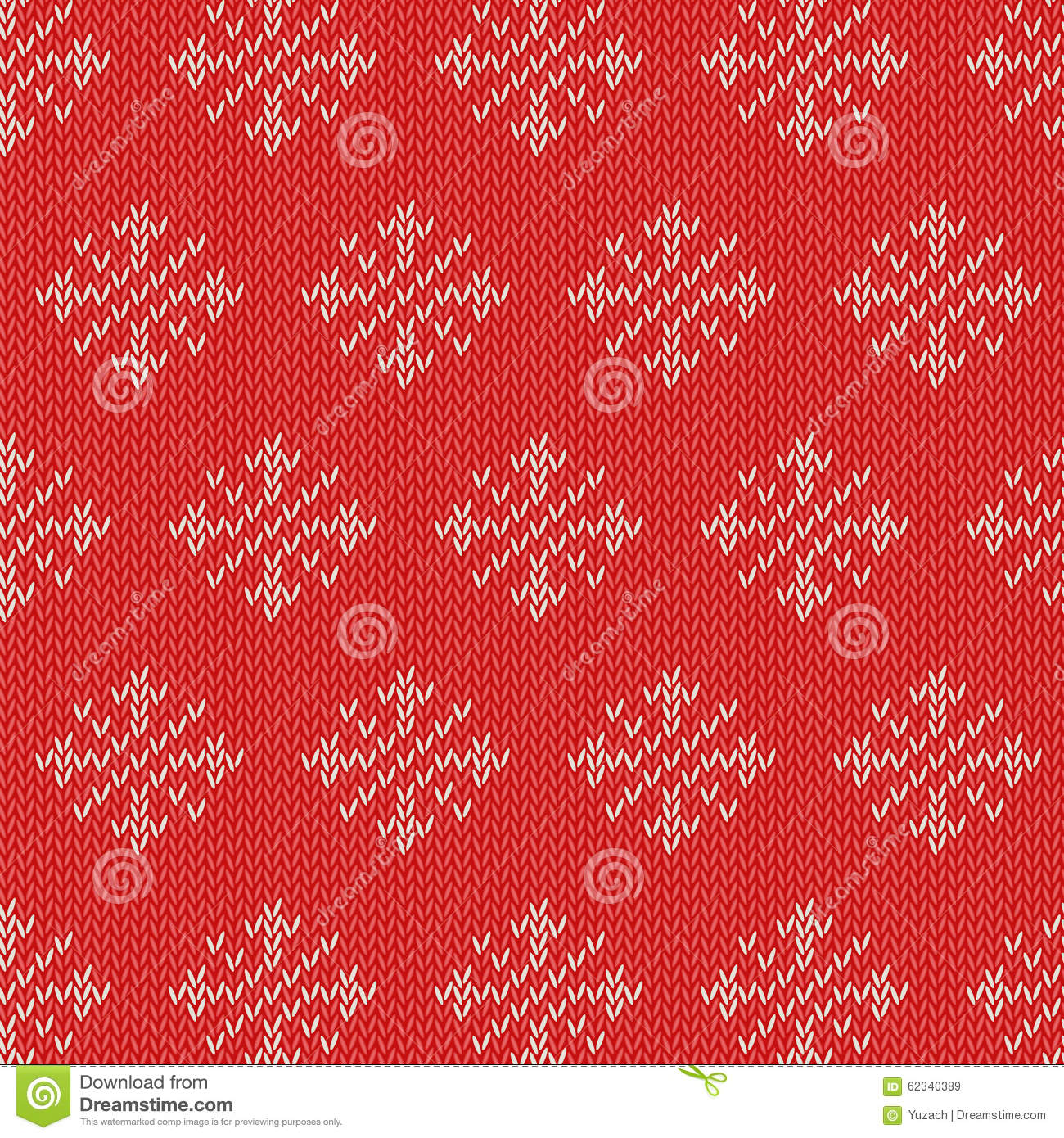 Winter Knitted Cards And Templates Stock Vector Illustration Of