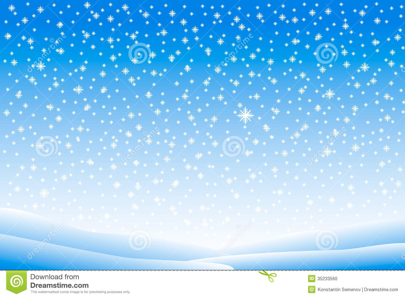 winter landscape with falling snow stock vector illustration of rh dreamstime com snow background clipart free snow falling background clipart
