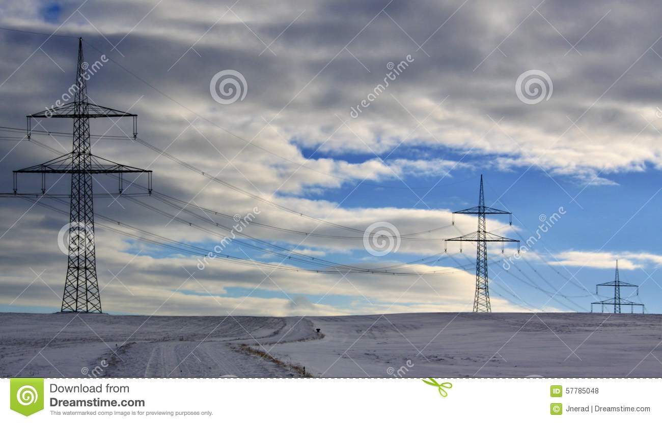 winter landscape and mast electrical wiring stock photo image, engine diagram, landscape electrical wiring
