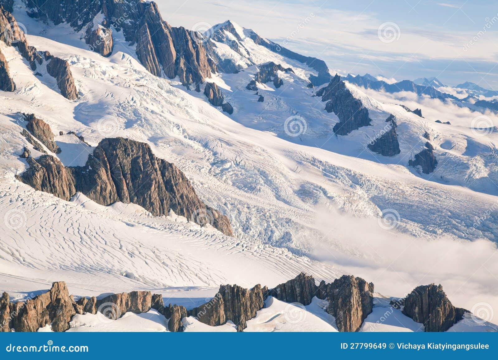 New Zealand Time Image: Winter Landscape New Zealand Royalty Free Stock Images