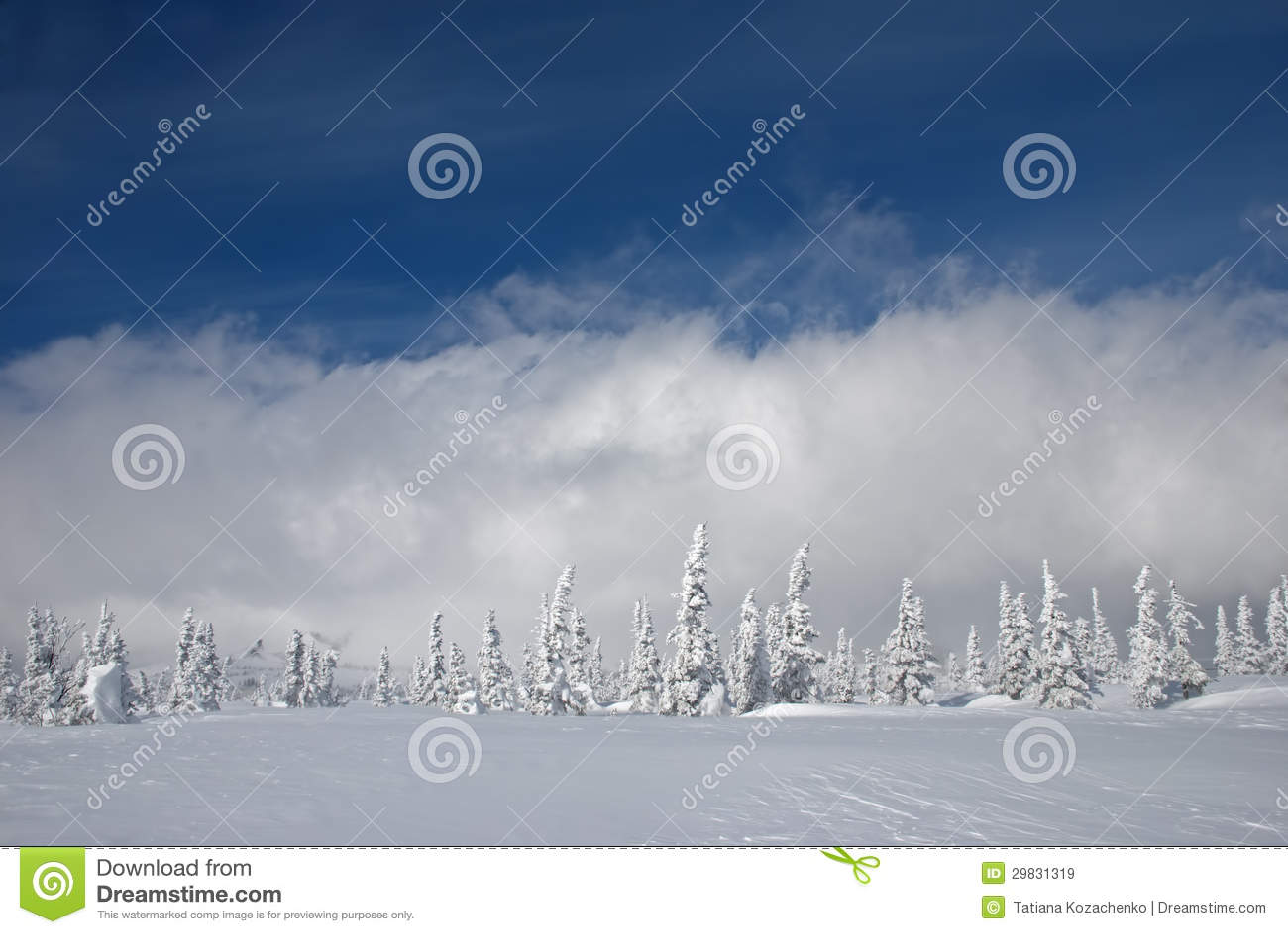 landscape sky clouds snow - photo #49