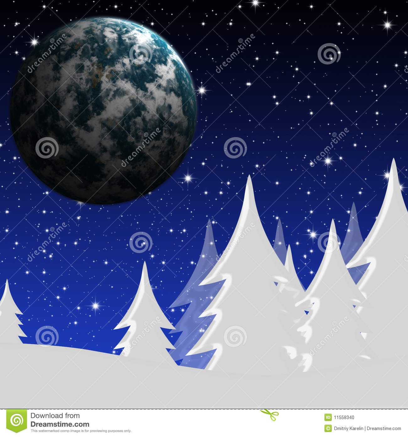 winter night sky planets - photo #21