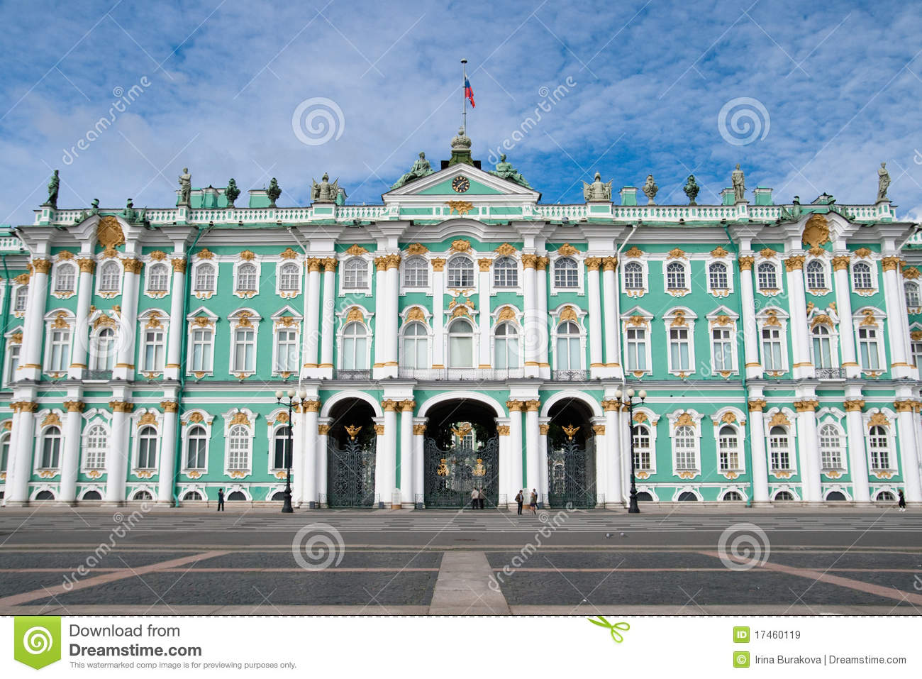 Winter Palace. The Hermitage