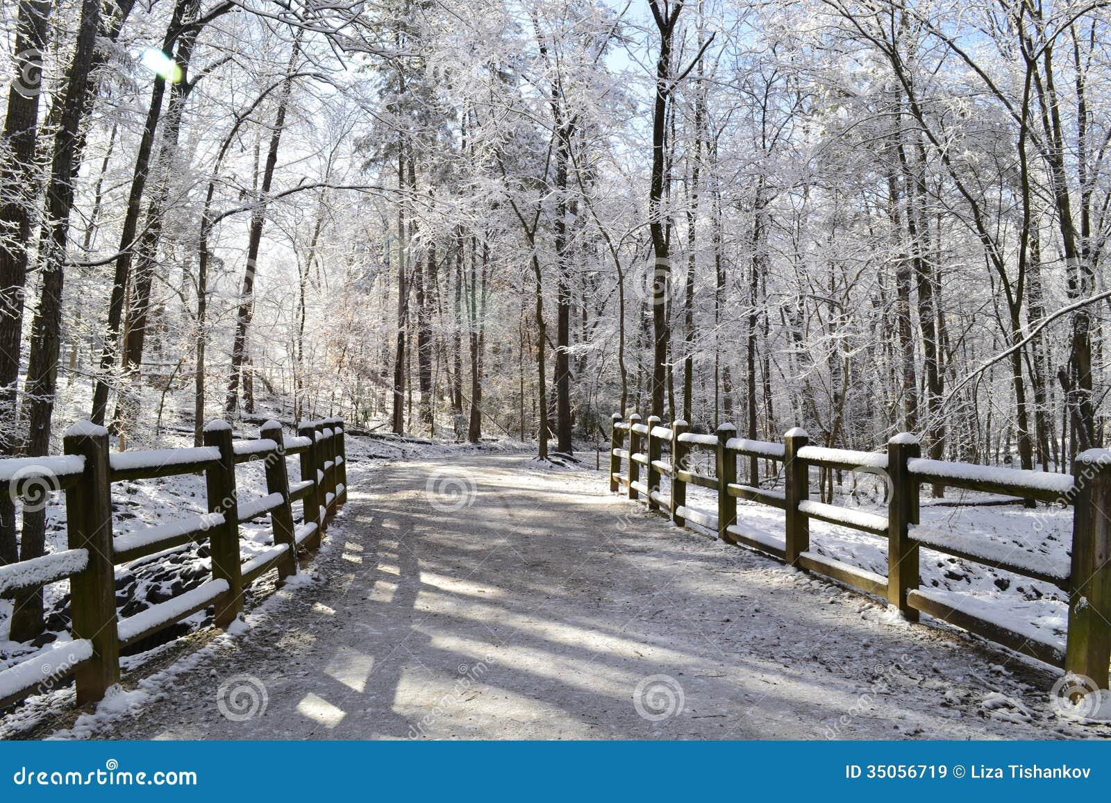 Winter Landscape Clipart Free