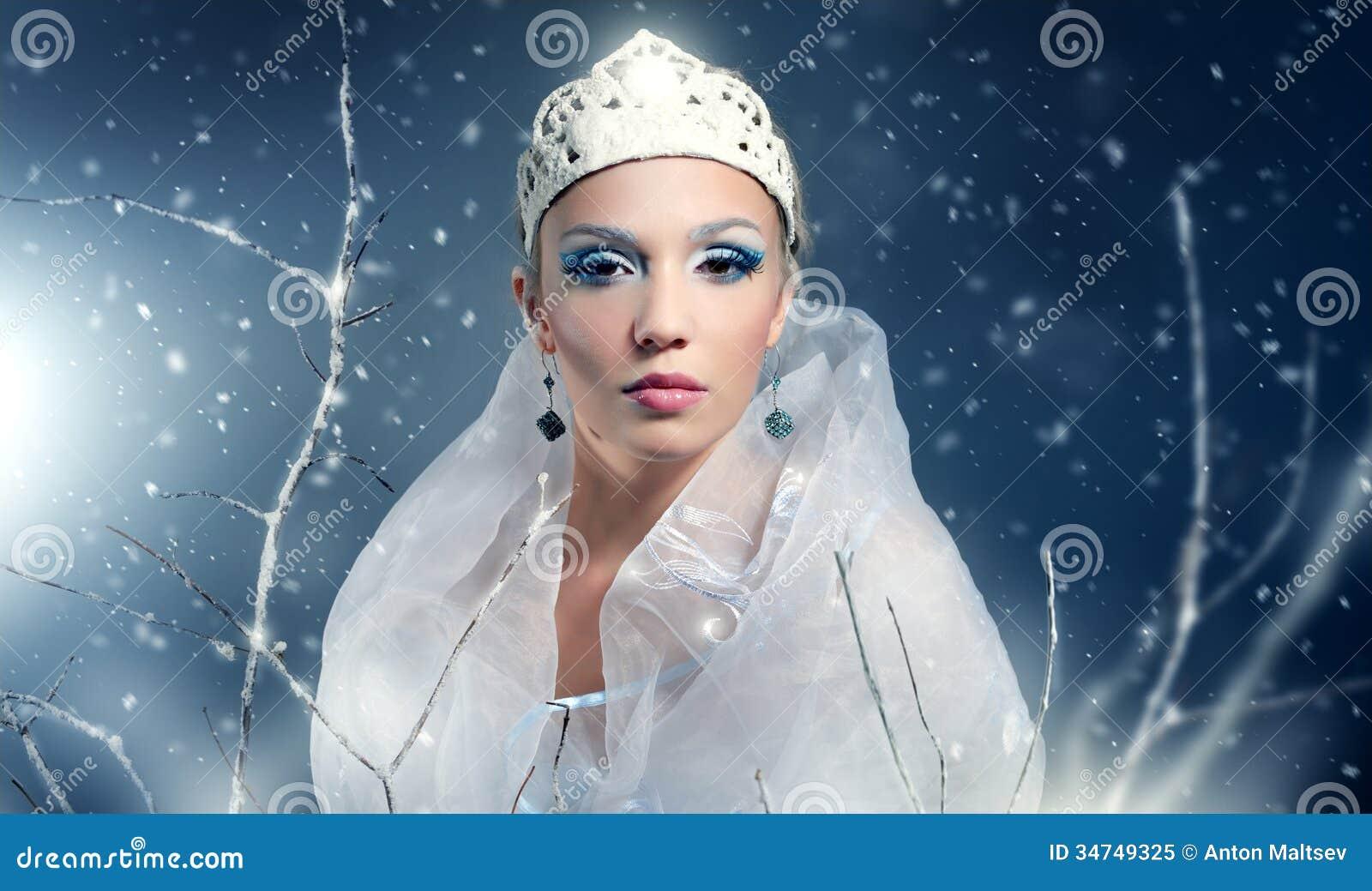 Citaten Winter Queen : Winter queen royalty free stock photo image