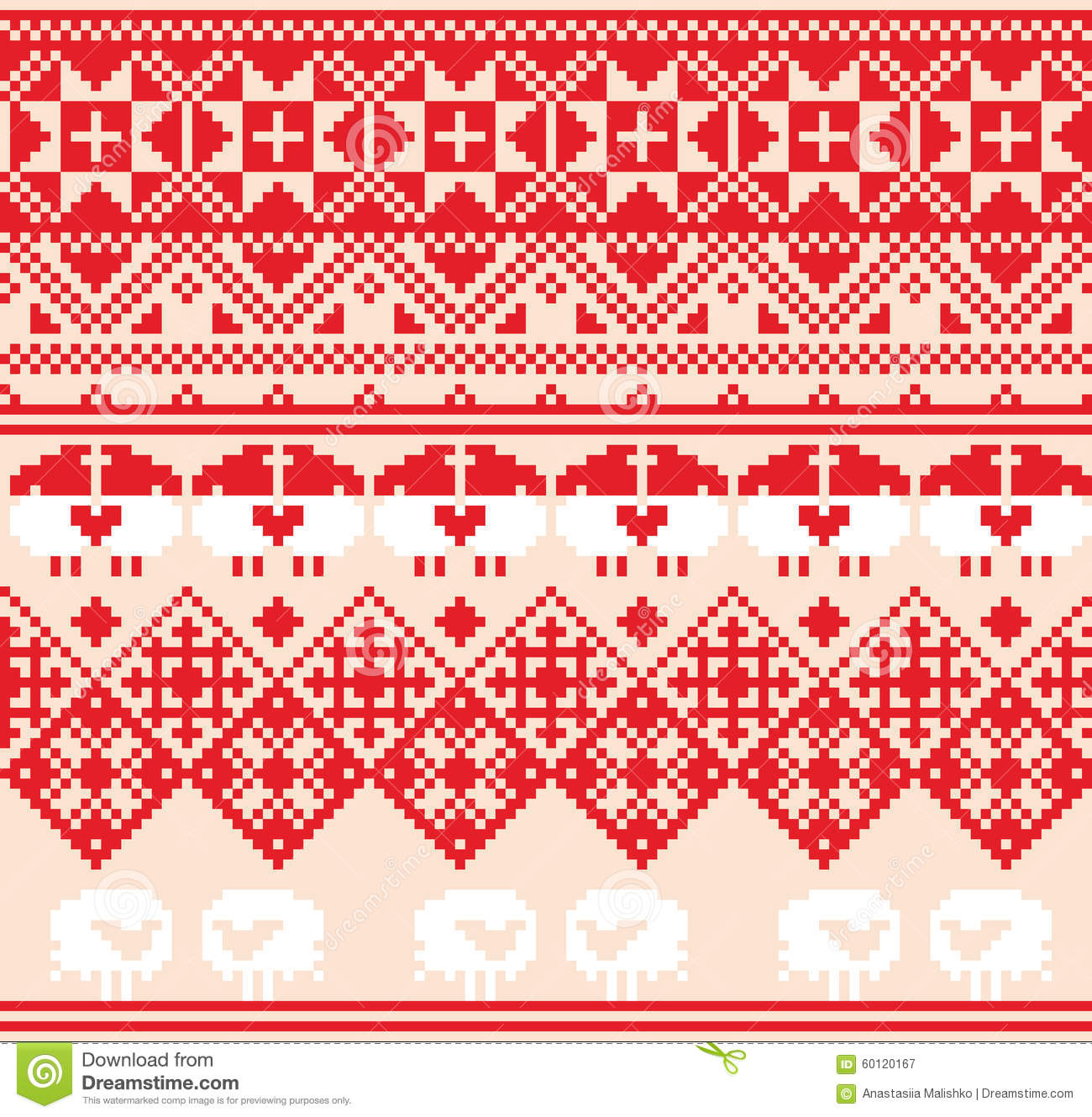 winter red seamless pattern with sheep pixel design background rh dreamstime com