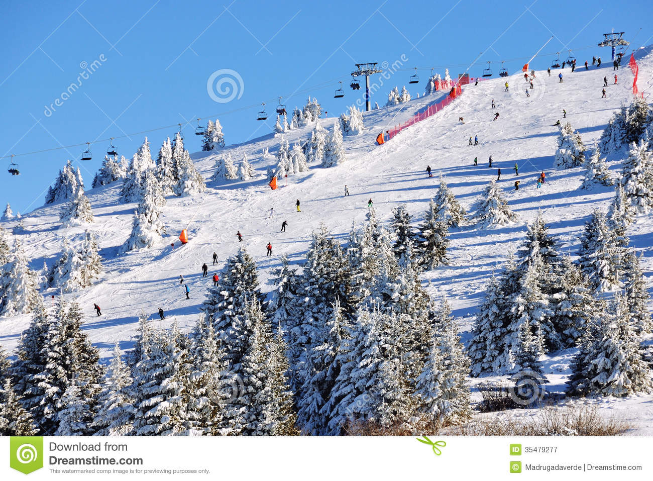 Winter Resort Kopaonik, Serbia Royalty Free Stock Photography - Image ...