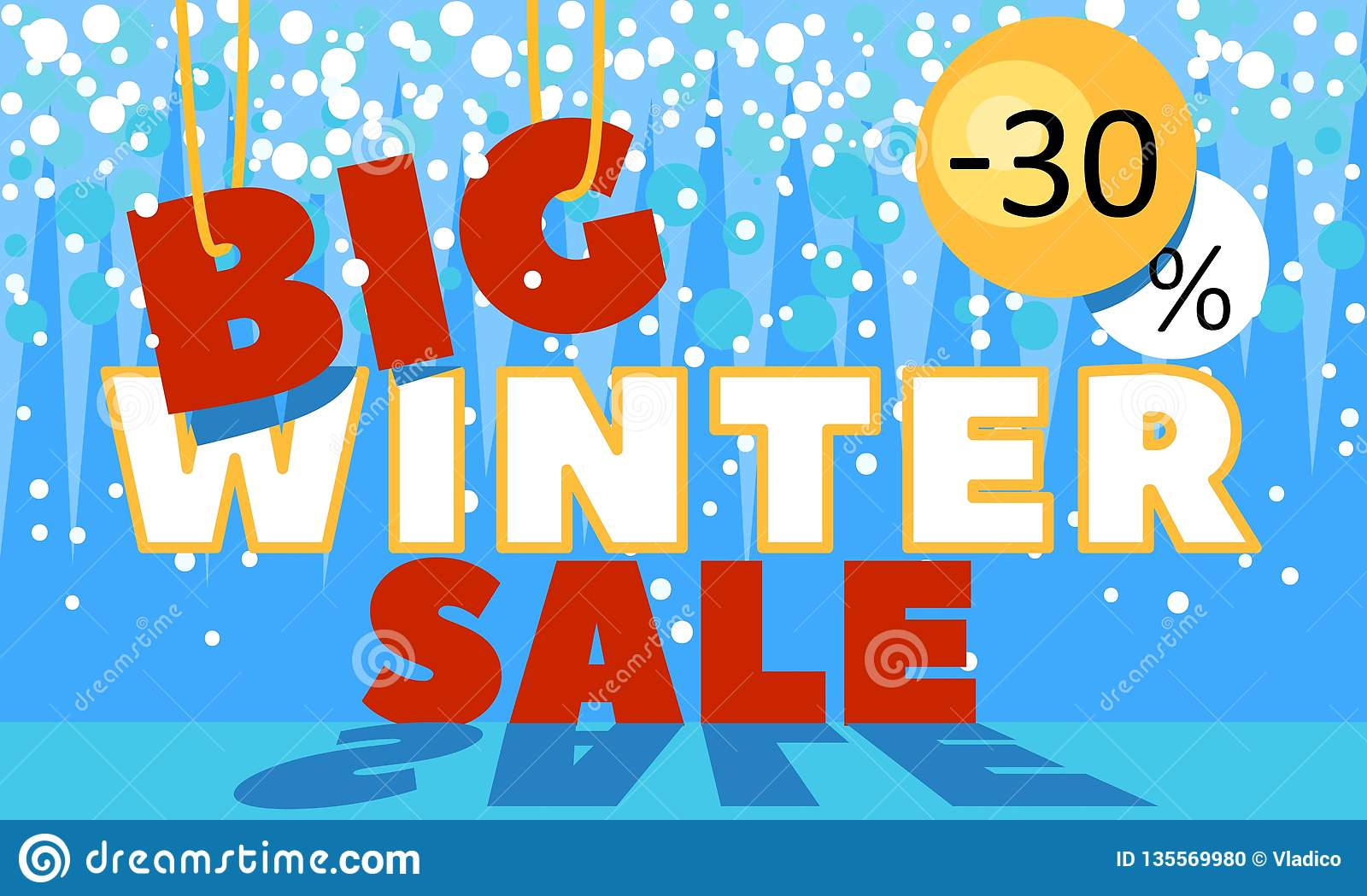 Winter Sale Banners Baroque Banners