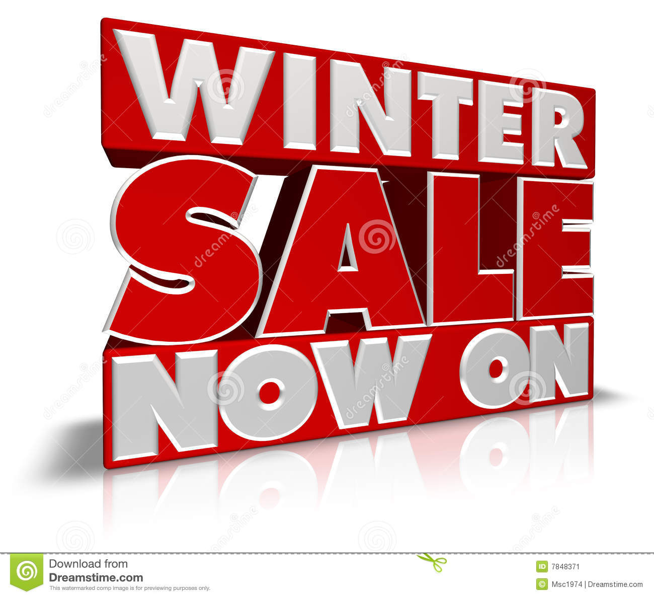 Winter Sale Banners Furniture Banners