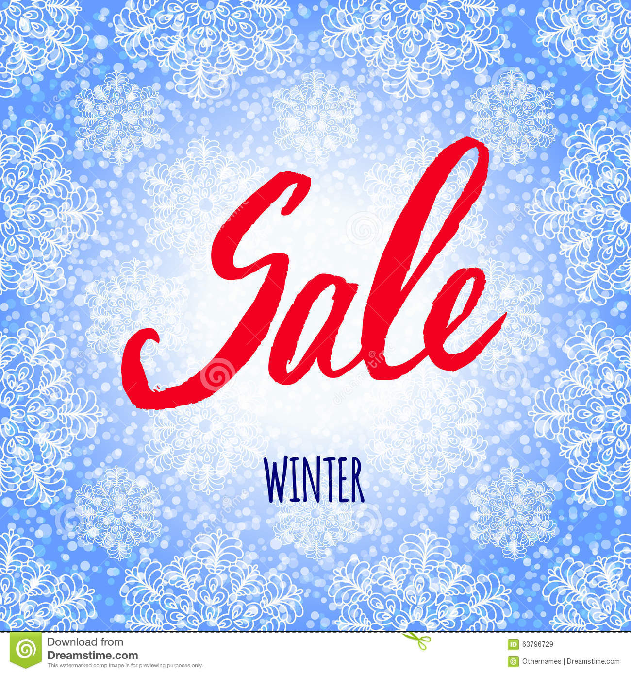 Winter sale christmas design vector template cartoon Architecture firm for sale