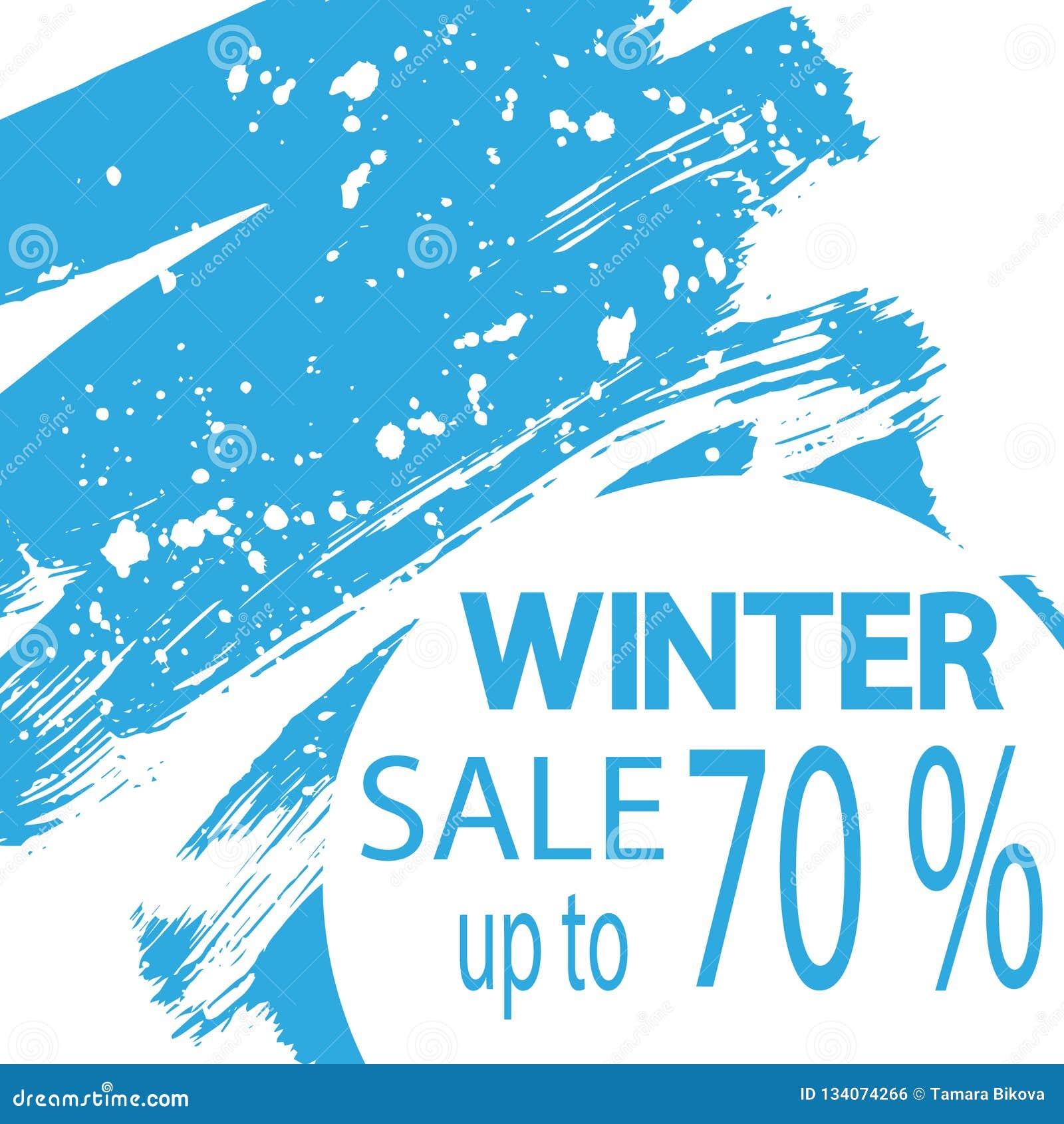 christmas winter sale labels vector illustration