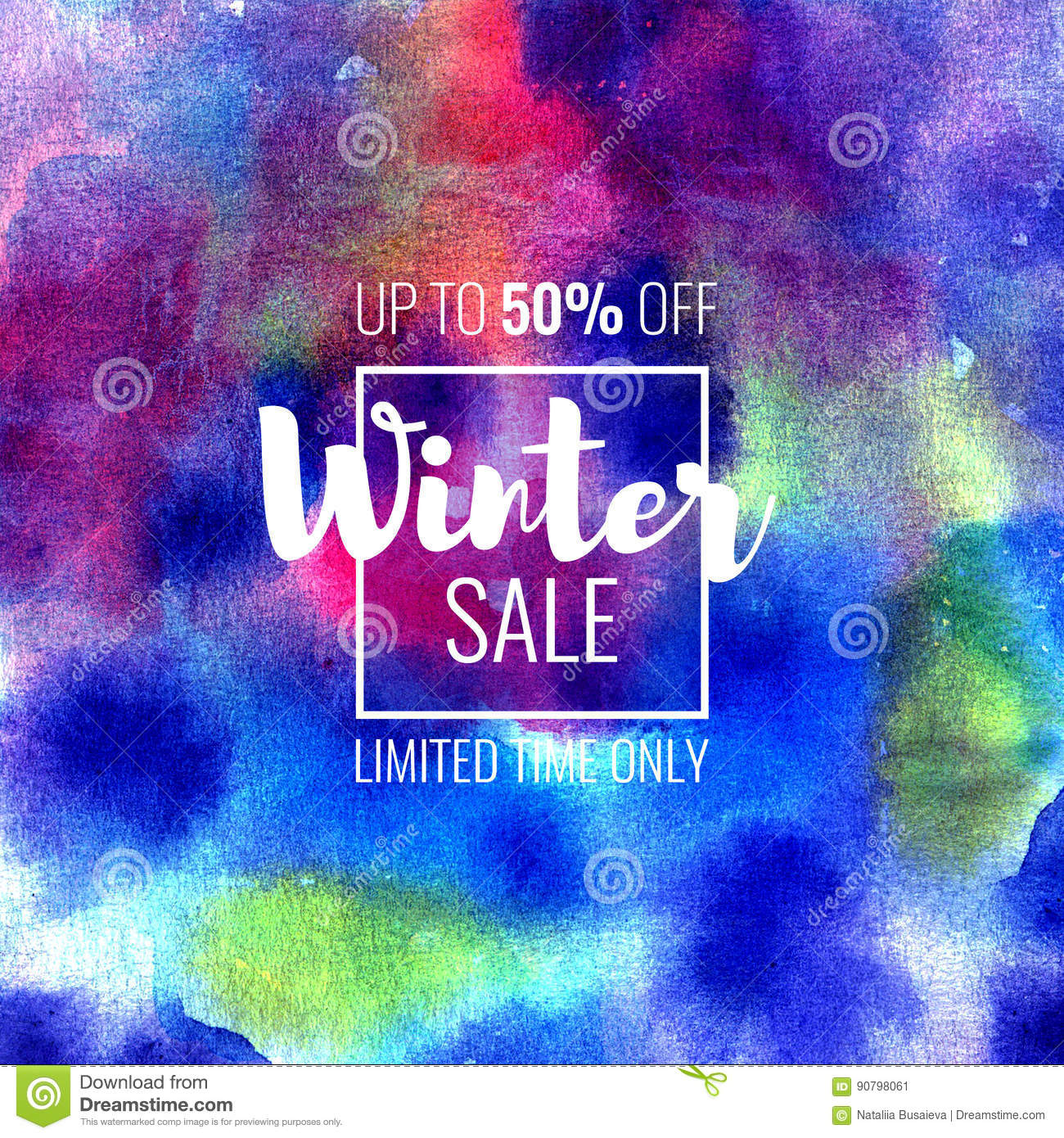 Winter Sale Banners Email Marketing Banners
