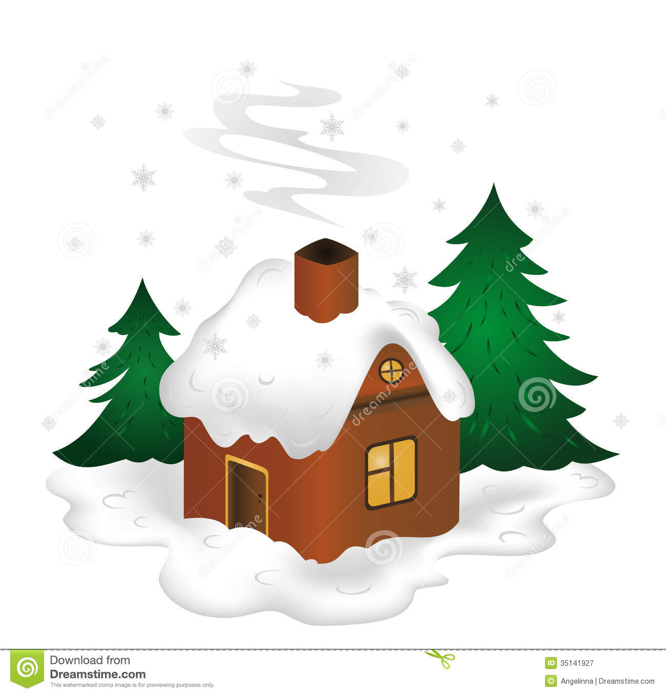 house winter clipart - photo #44
