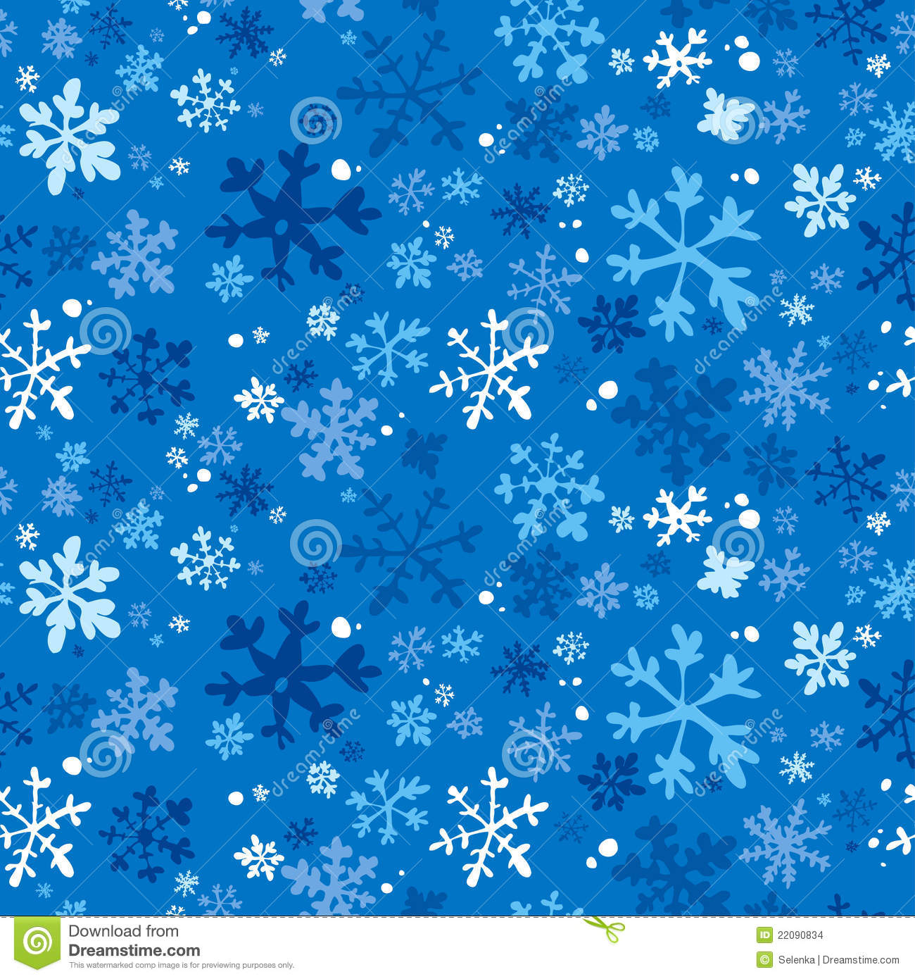 Winter Seamless Background Stock Images Image 22090834