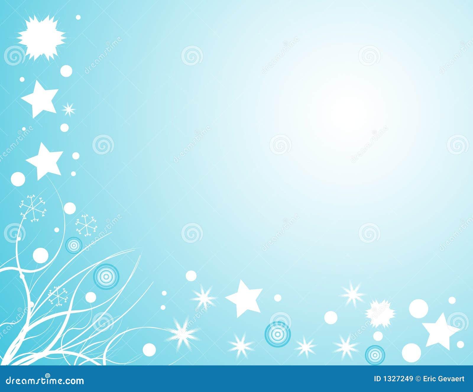 Christmas tree snow decoration - Winter Snow Design Royalty Free Stock Images Image 1327249