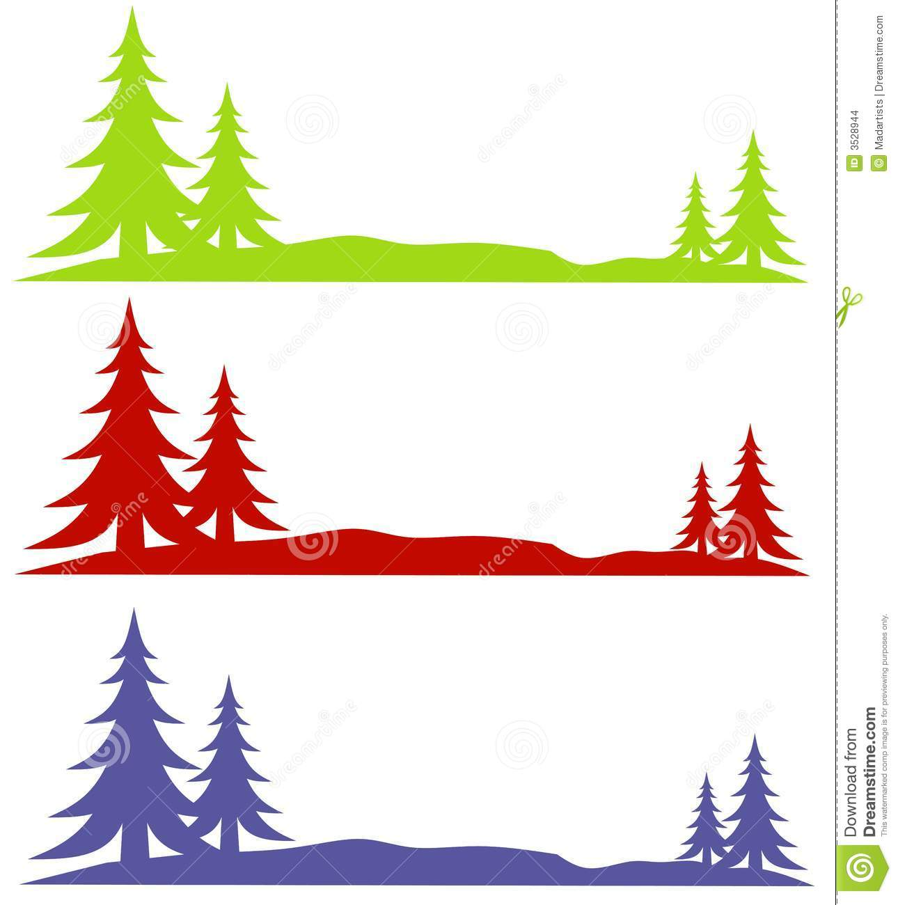 winter snow trees logos stock illustration illustration of season rh dreamstime com free winter scene clipart images free winter scene clipart images