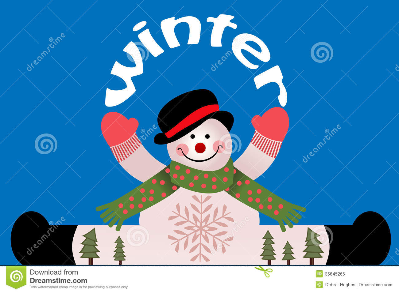 Colorful christmas tree of hands royalty free stock photos image - Winter Snowman Royalty Free Stock Photo Image 35645265
