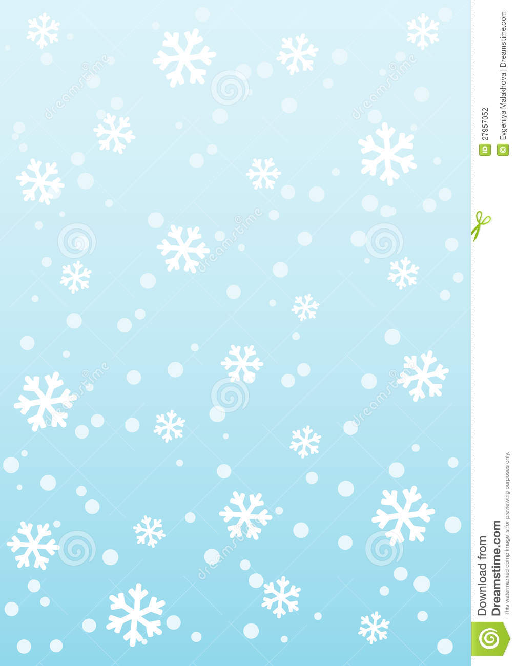 winter template stock vector illustration of card pattern 27957052