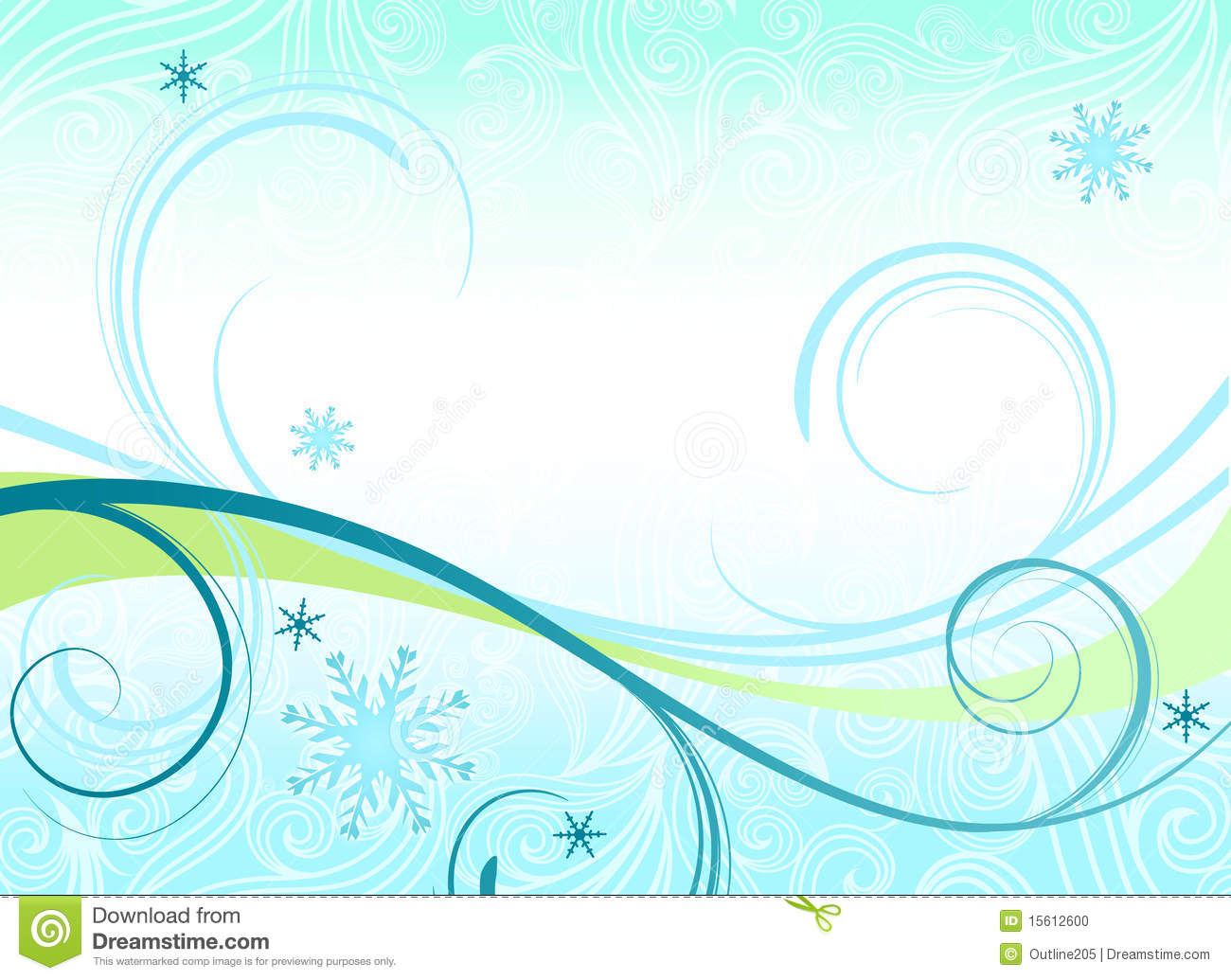 winter themed background or banner stock illustration illustration