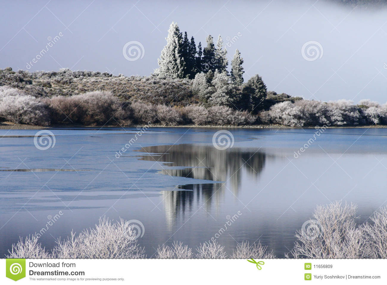 New Zealand Time Image: Winter Time In New Zealand Stock Image. Image Of Square