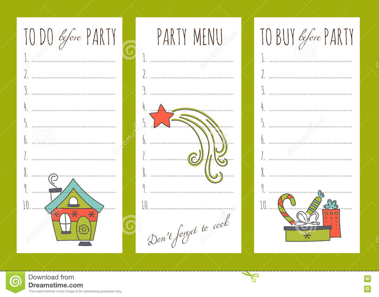 download winter to do list stock vector illustration of christmas 80372230 - What To Do On Christmas