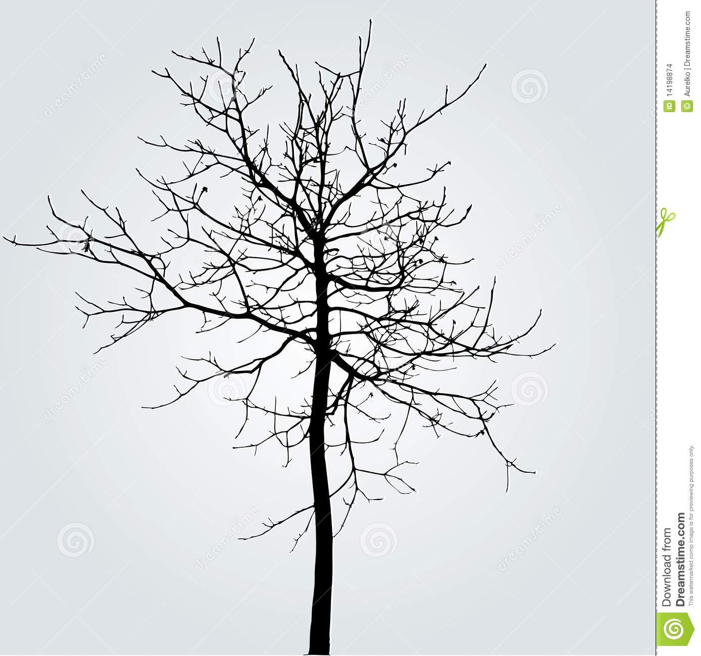 Winter Tree Stock Images - Image: 14198874