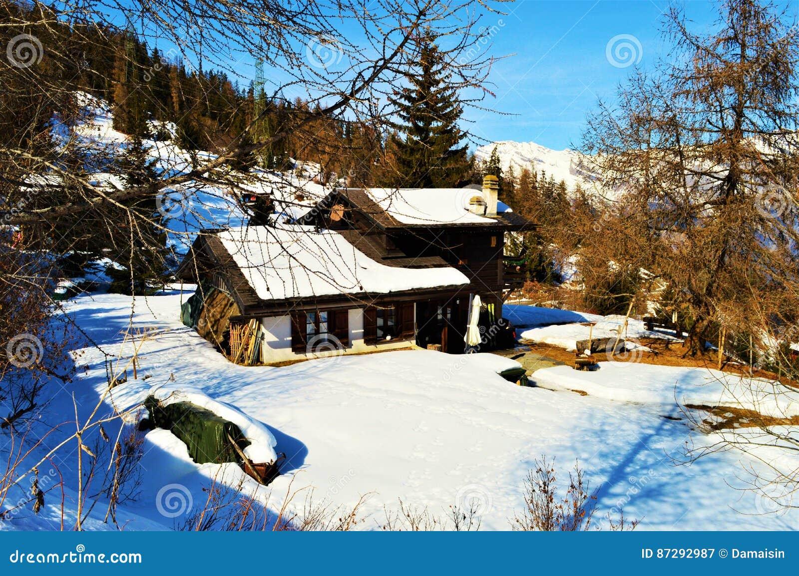 Winter und die Alpen