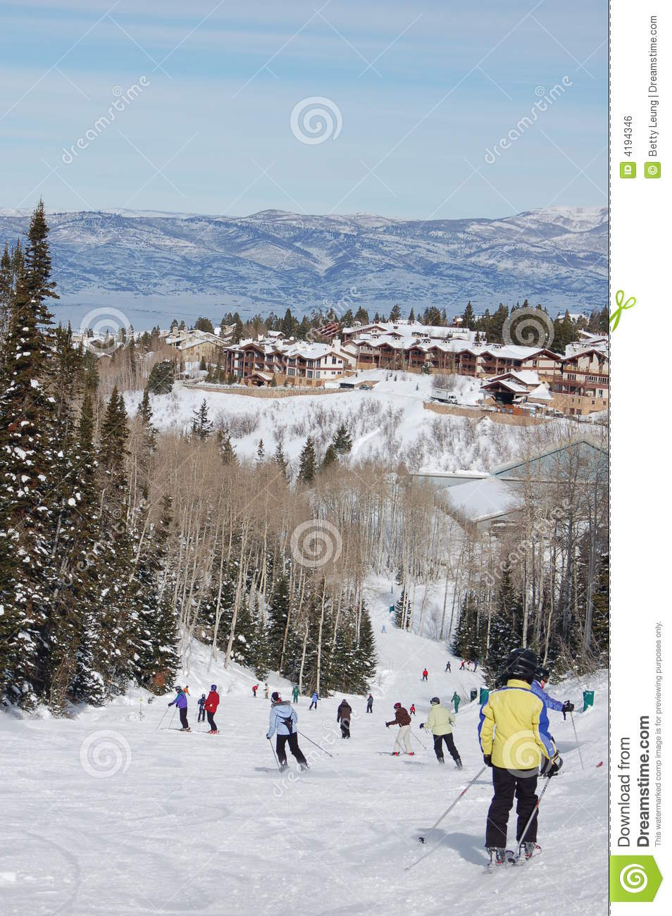 Winter vacation royalty free stock image image 4194346 for Vacation in the snow