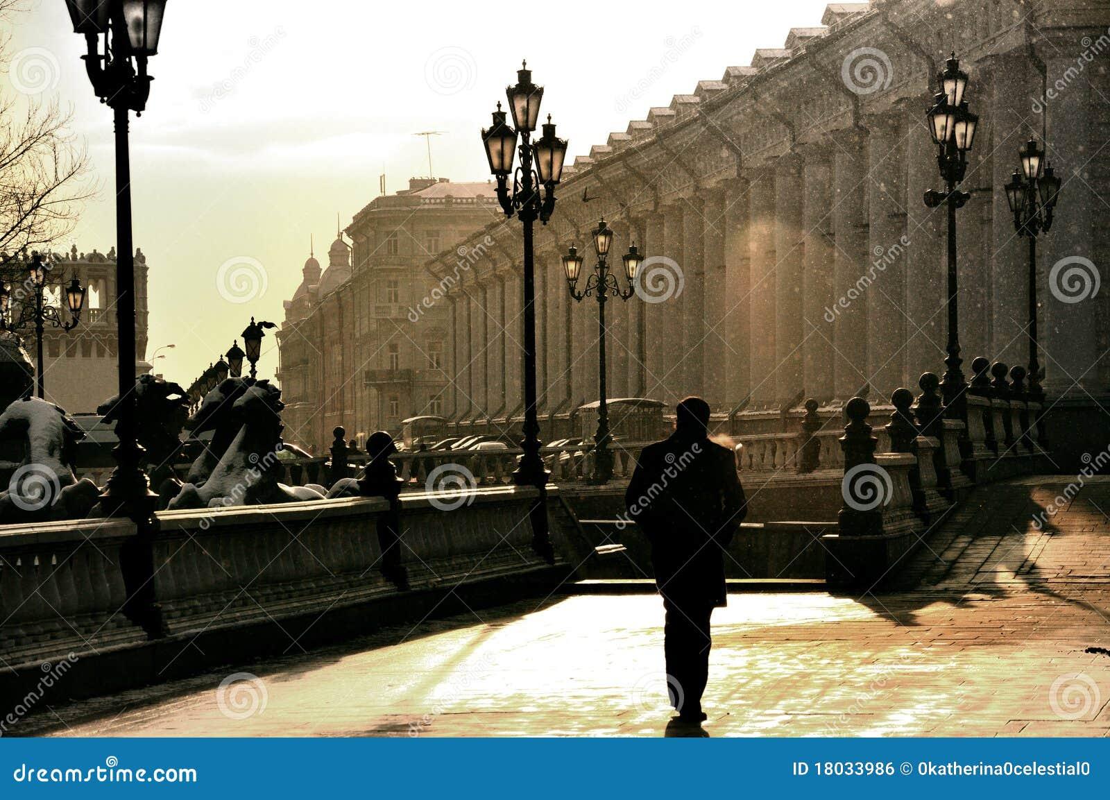 travel moscow winter walks walking