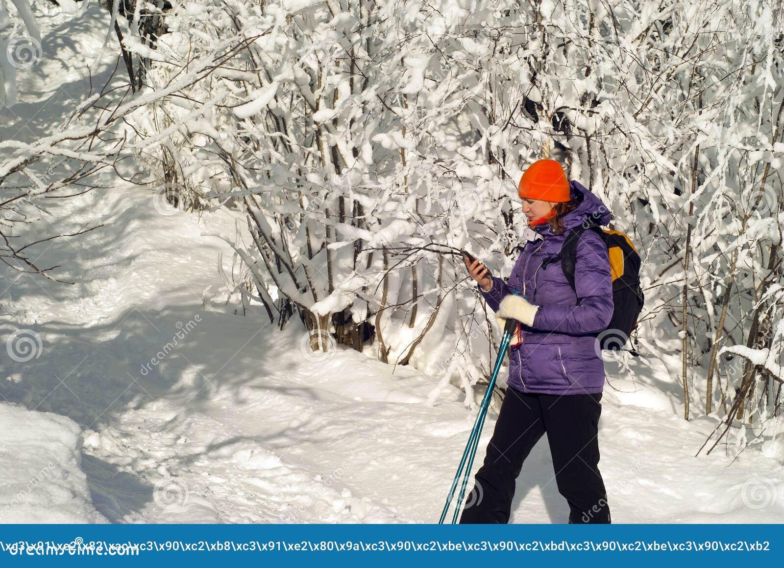 On a winter walk in communication