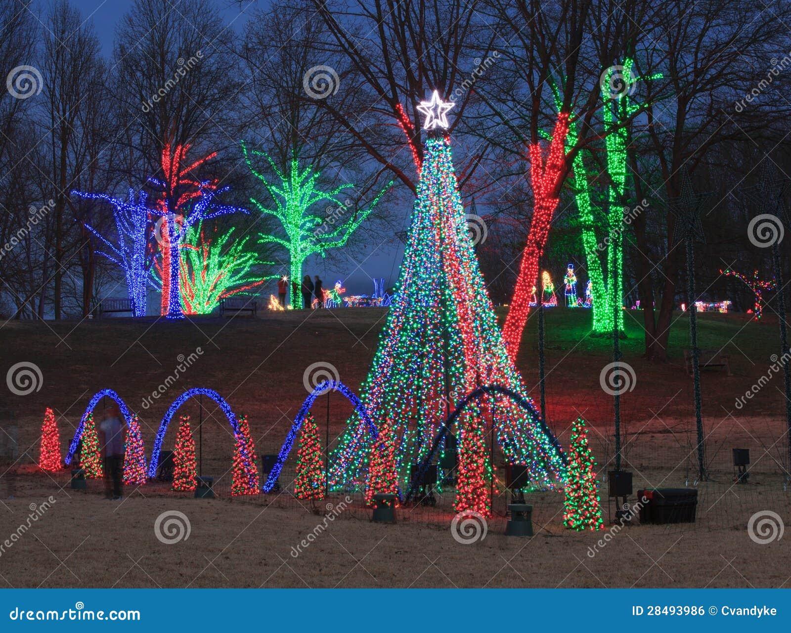 Winter Walk Festival of Lights Virginia