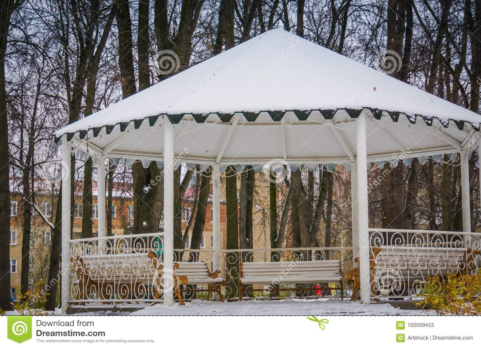Enjoyable Winter White Alcove Stock Image Image Of Garden Winter Forskolin Free Trial Chair Design Images Forskolin Free Trialorg