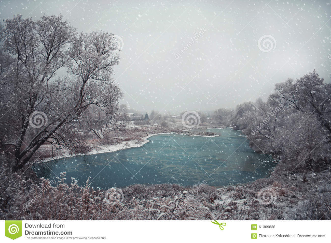 Download Winter stock photo. Image of north, december, frosty - 61309838