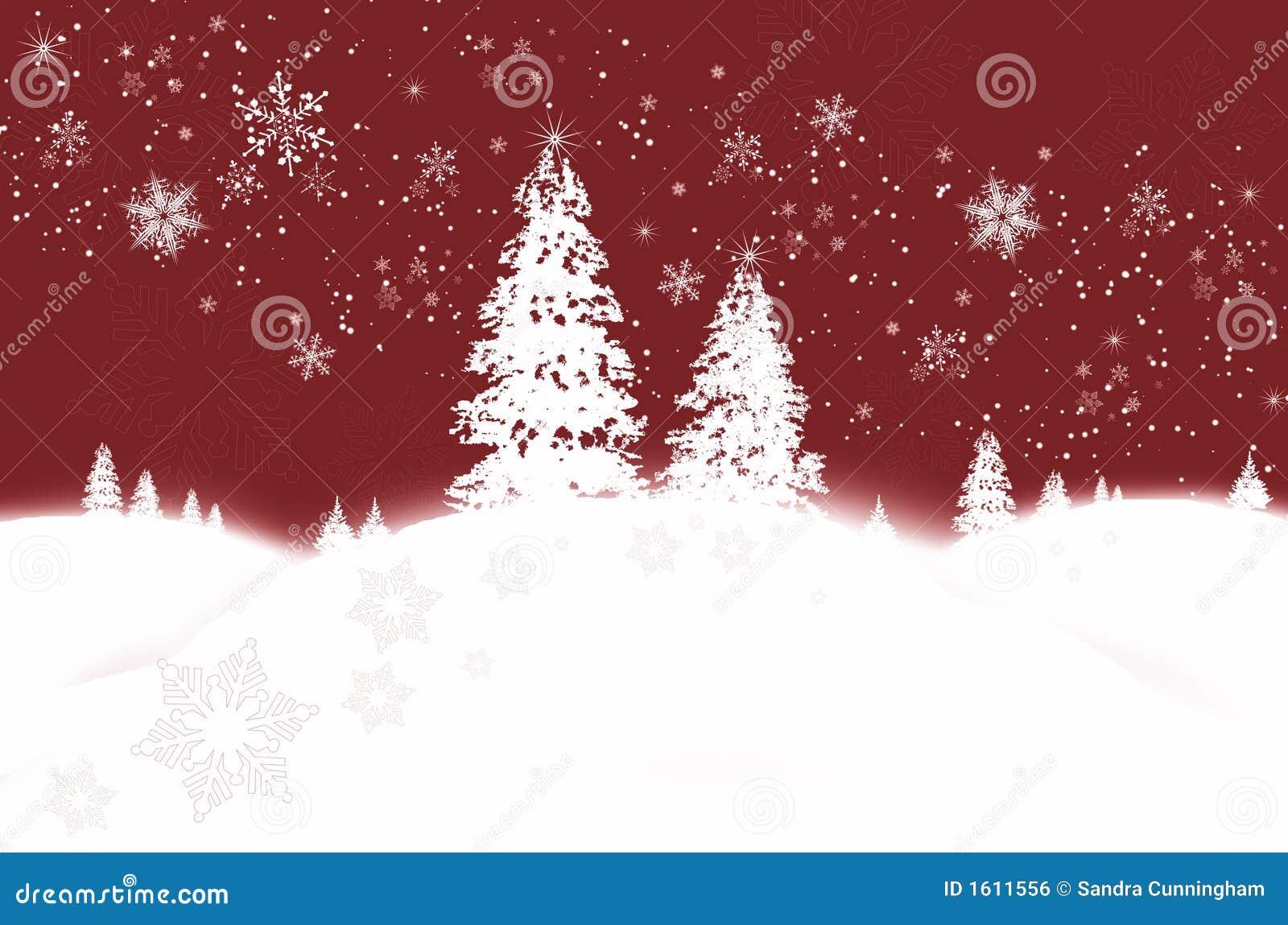 Winter wonderland/ Red