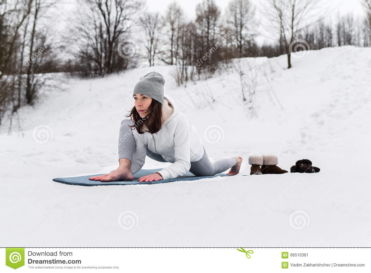 https://thumbs.dreamstime.com/z/winter-yoga-session-beautiful-place-young-athletic-woman-doing-woods-girl-engaged-fitness-park-66510381.jpg