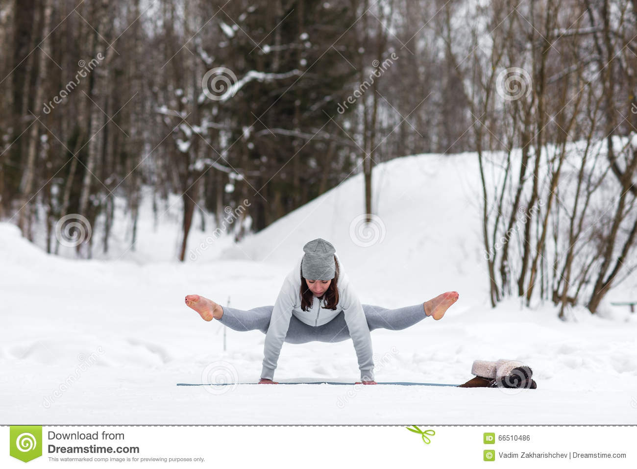 https://thumbs.dreamstime.com/z/winter-yoga-session-beautiful-place-young-athletic-woman-doing-woods-girl-engaged-fitness-park-66510486.jpg