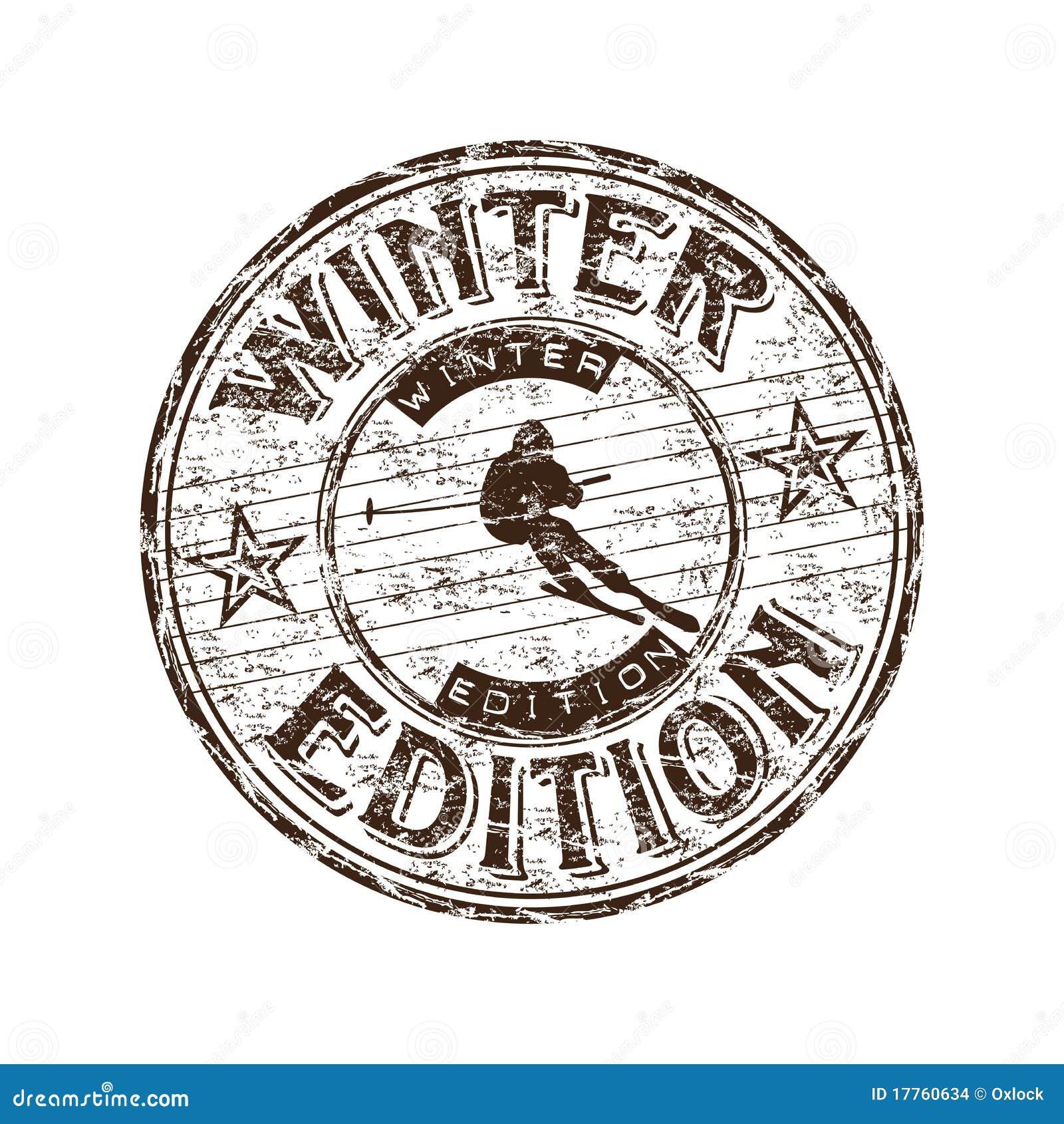 Winterausgabenstempel