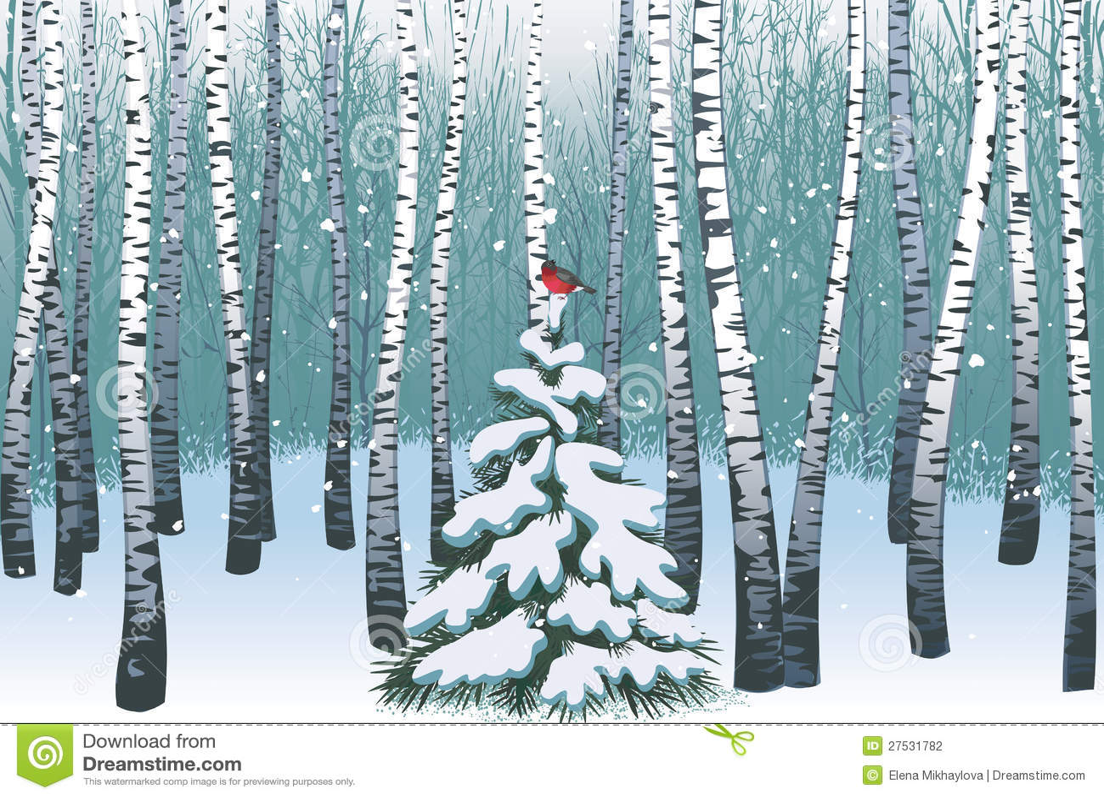 Winterbirkenholz