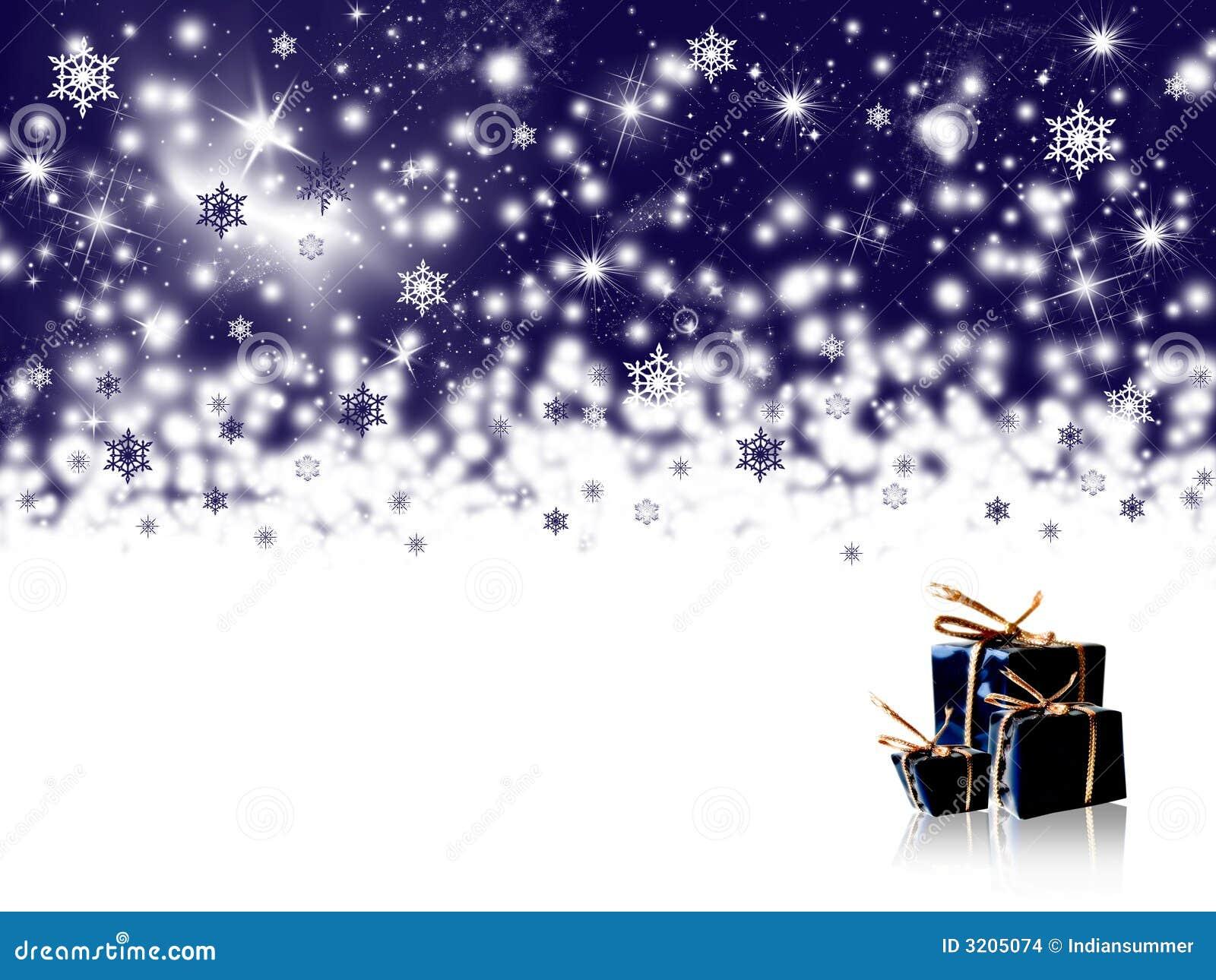 Winterfeiertagshintergrund