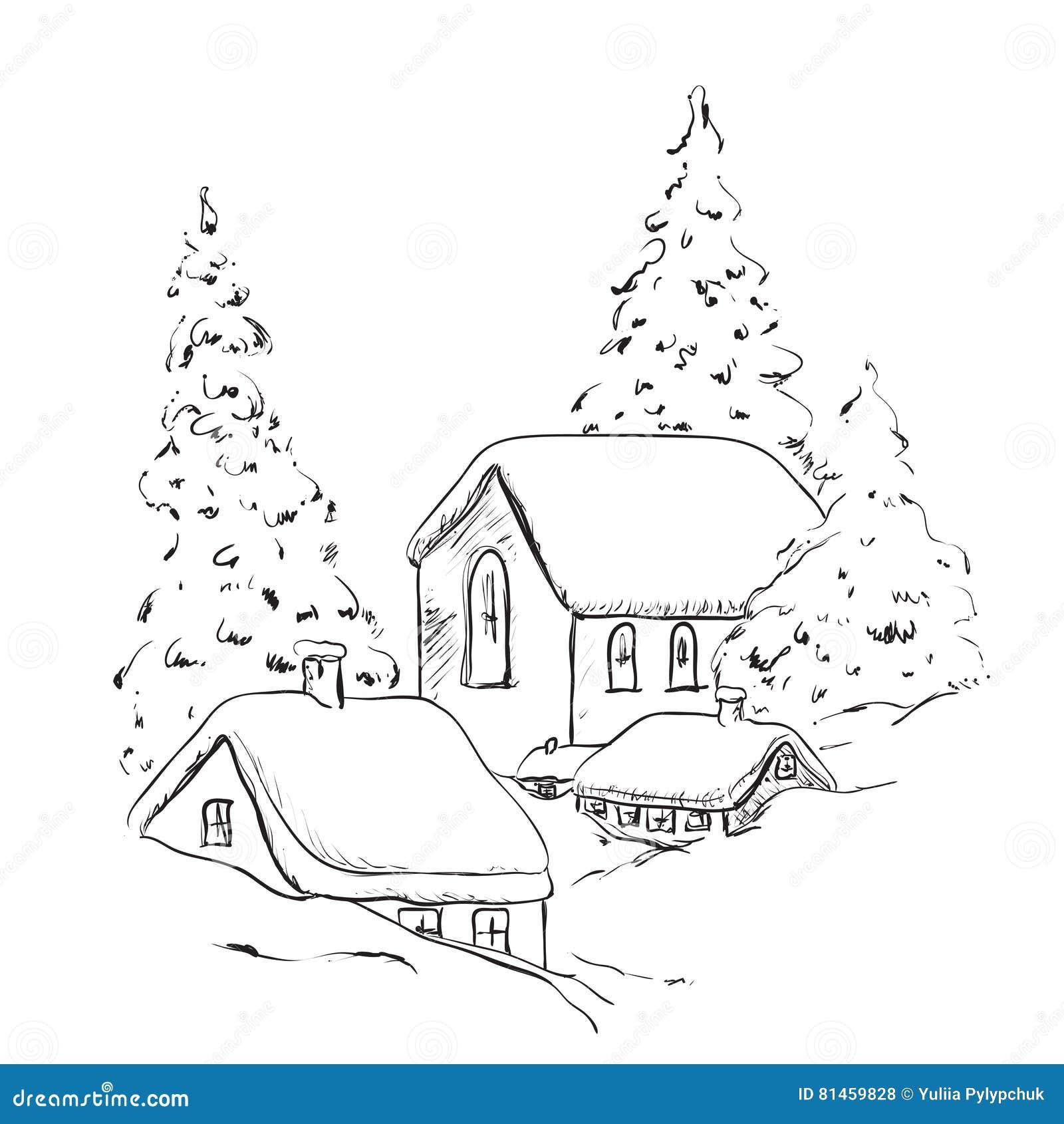 ausmalbilder haus mit schnee  28 images  ausmalbilder