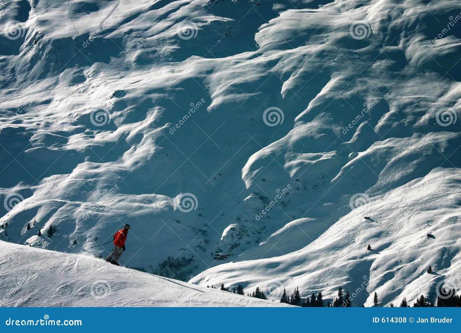 Wintersport extrême - différences d échelle