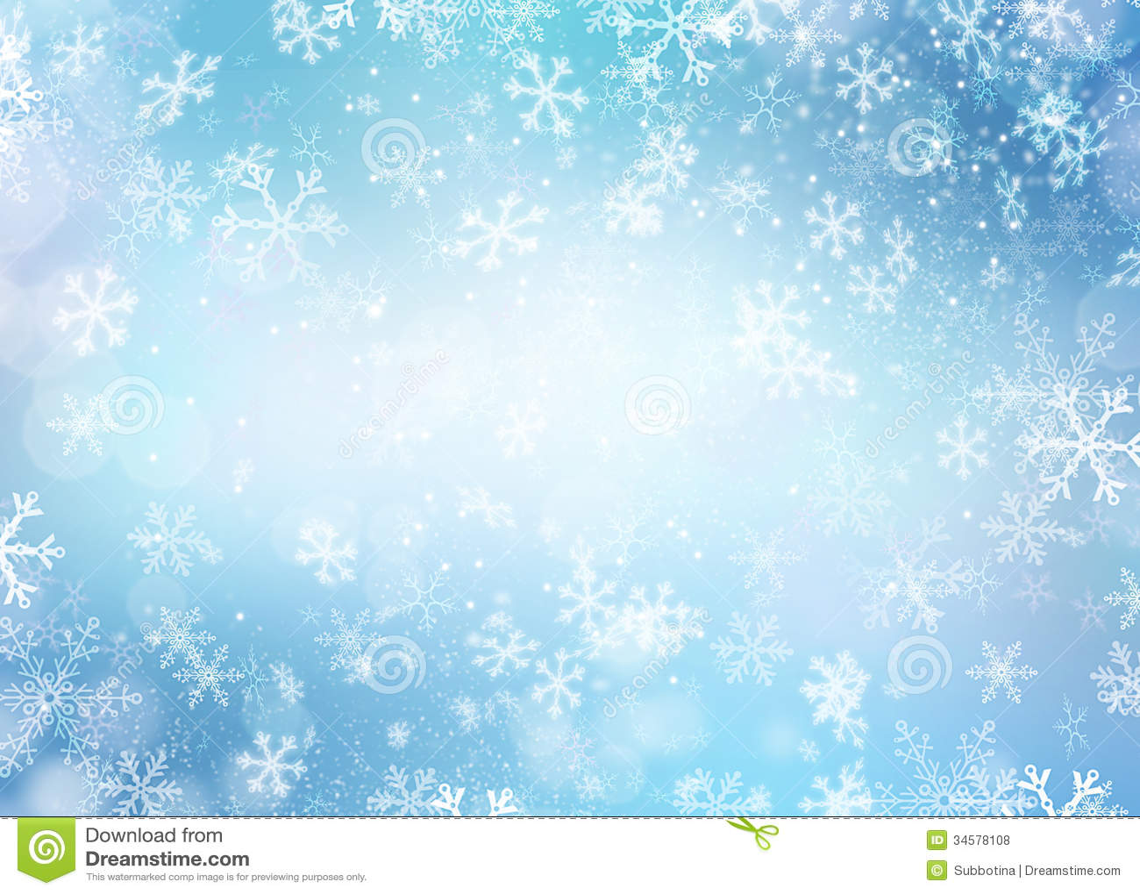 Winterurlaub-Schnee-Hintergrund Stockfoto - Bild von ...