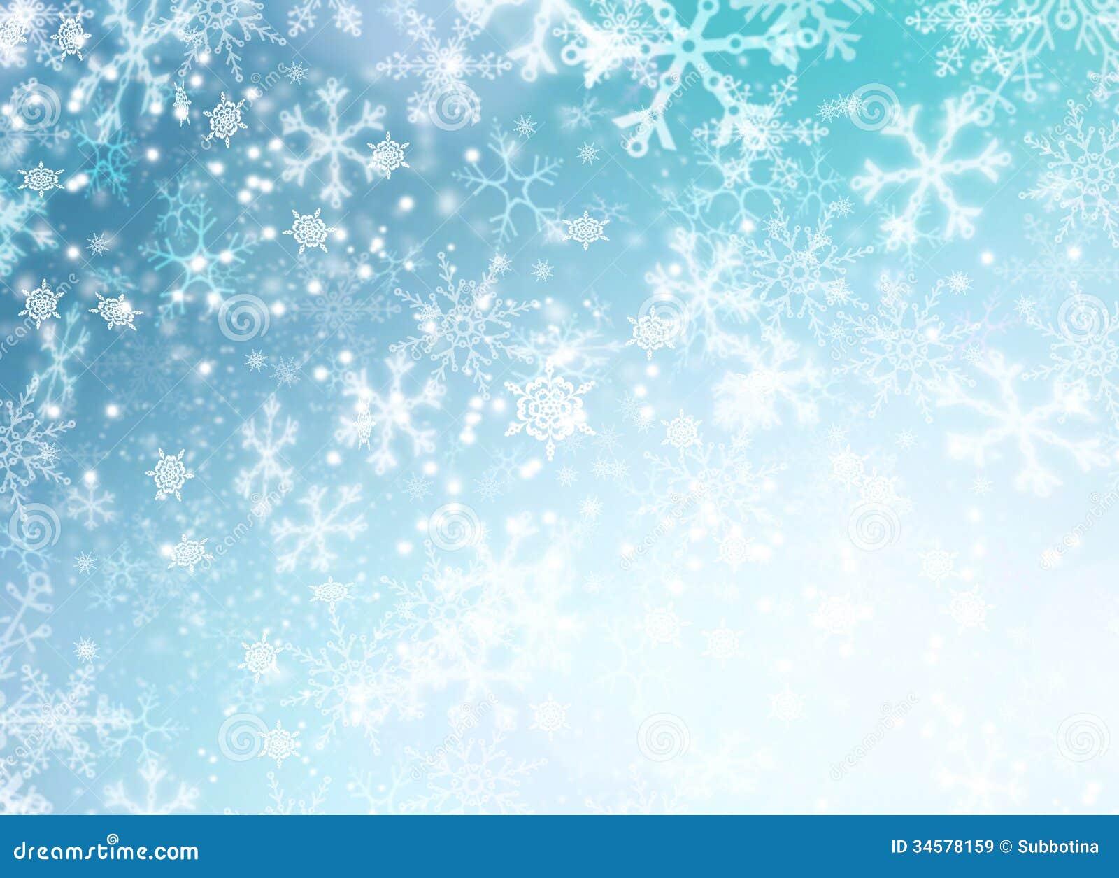 Winterurlaub-Schnee-Hintergrund