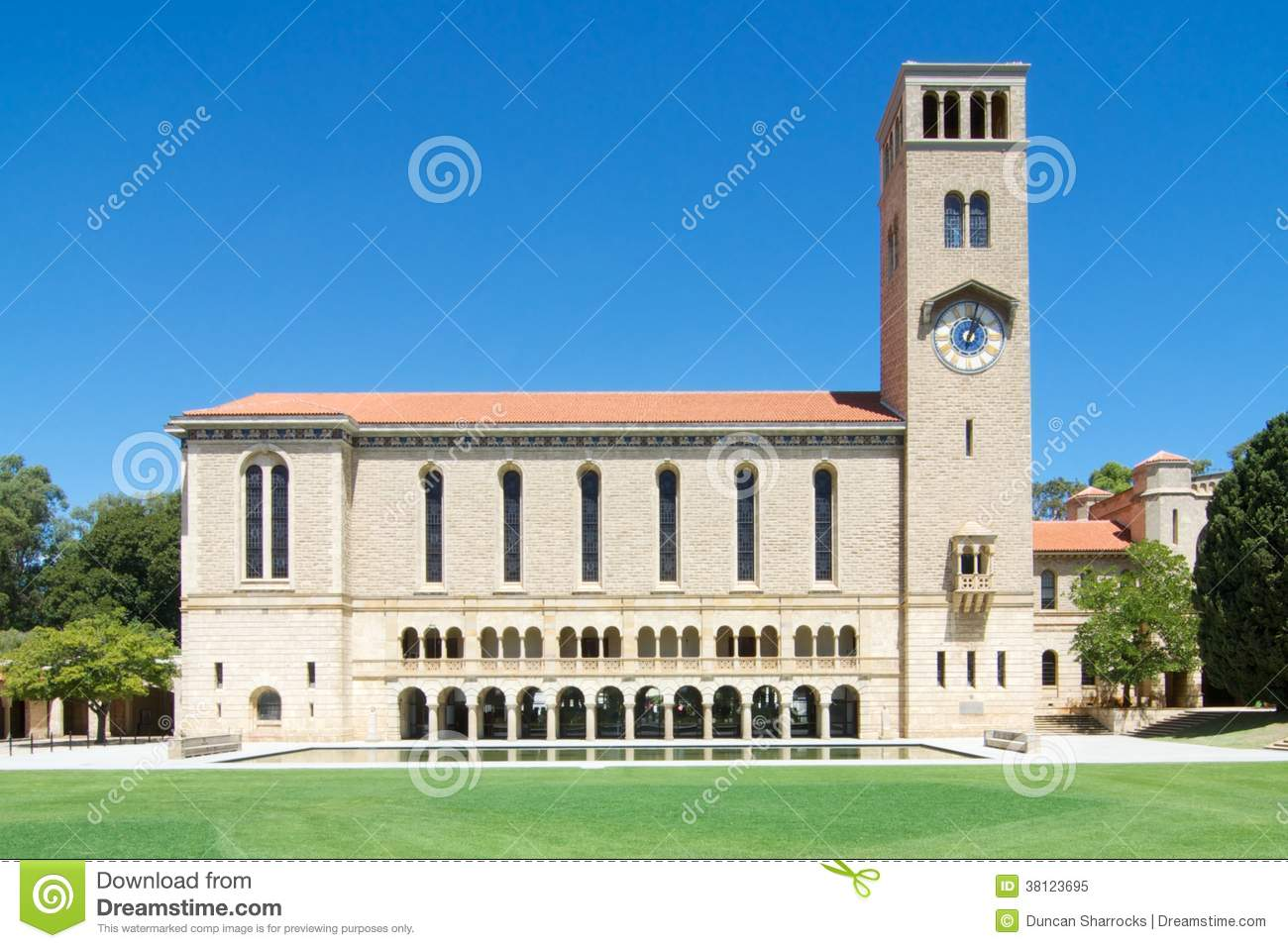 Floor Plans Perth Winthrop Hall And Clock Tower University Of Western